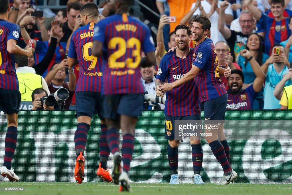 صور مباراة : برشلونة - PSV إندهوفن 4-0 ( 18-09-2018 )  S