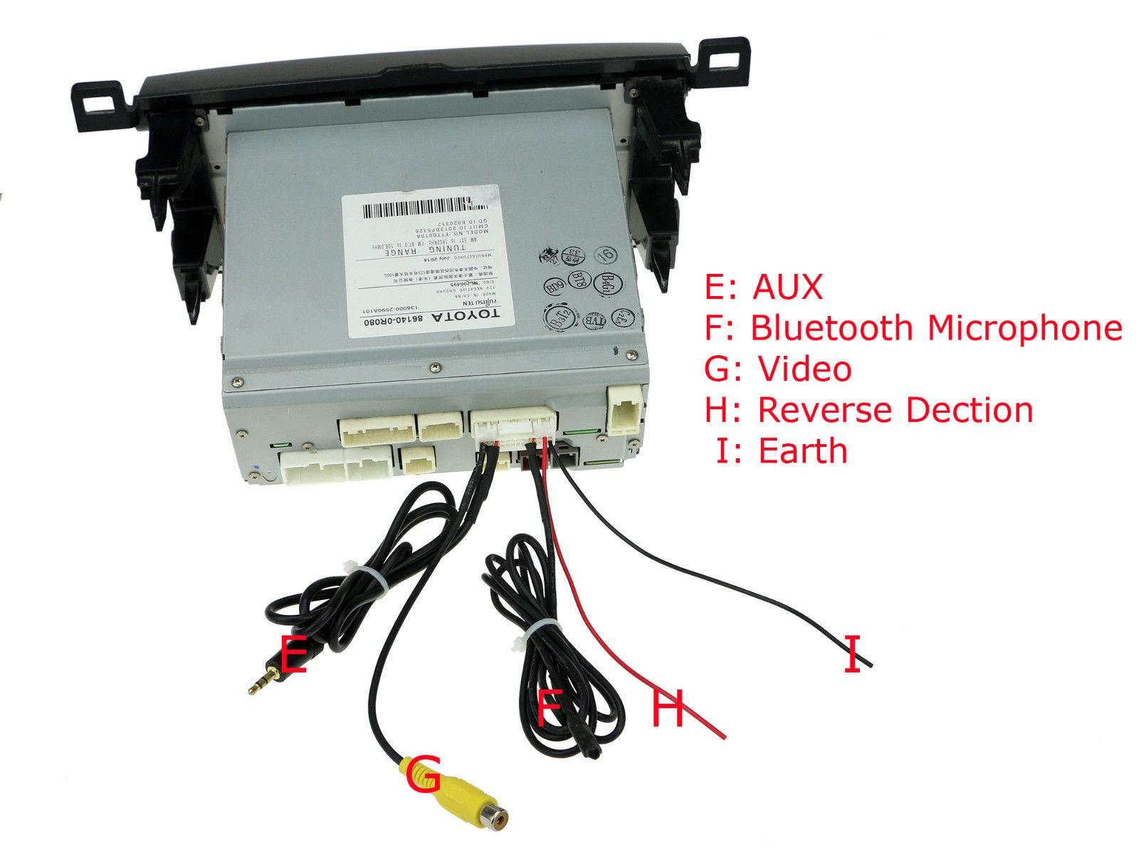 Wiring harness connector socket toyota rav corolla prado