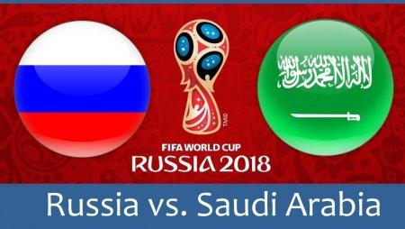 Россия – Саудовская Аравия | Чемпионат Мира 2018 |