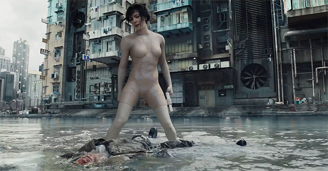 Scarlett Johansson's Thermoptic Bodysuit From GHOST IN THE SHELL Among The Many Costumes Up For Auction