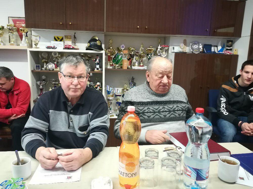 Výroční schůze SDH Lubenec 2018 4