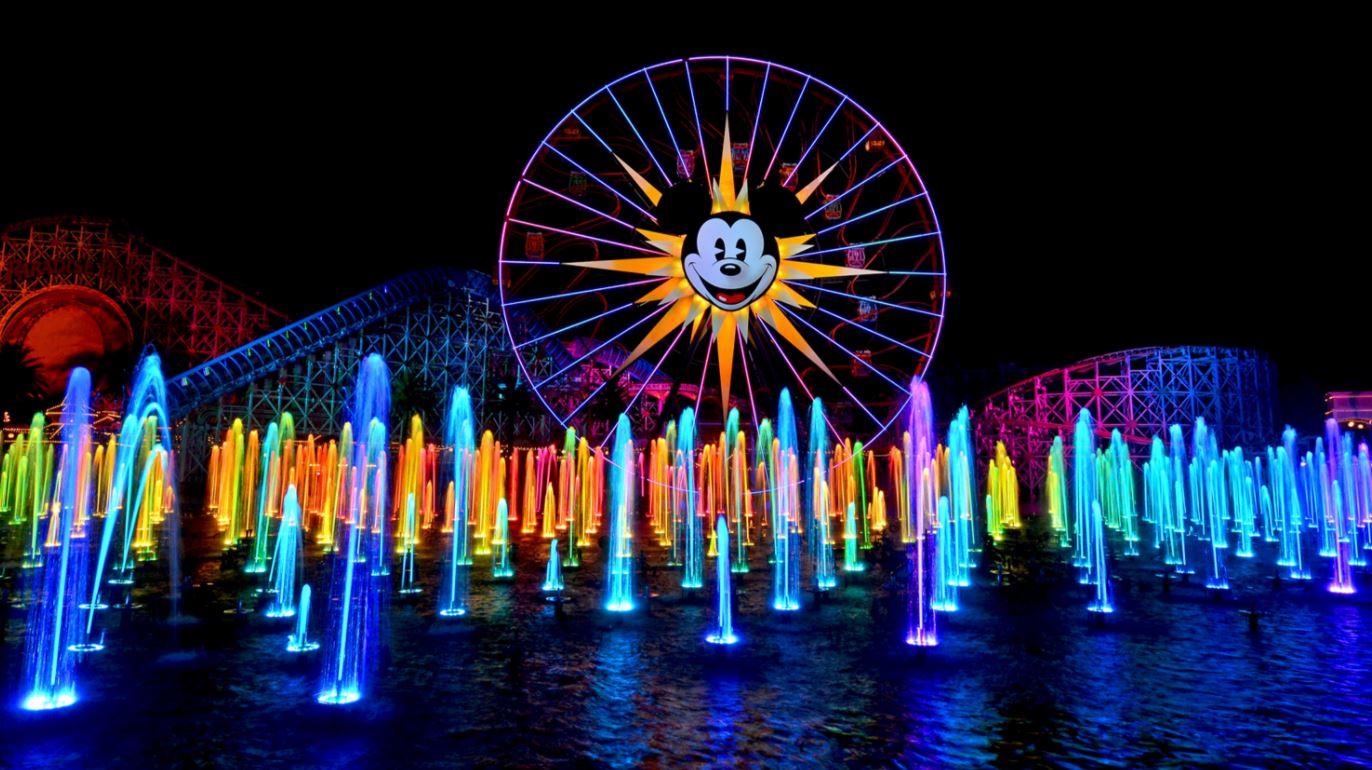 World of Colour at Disneyland California