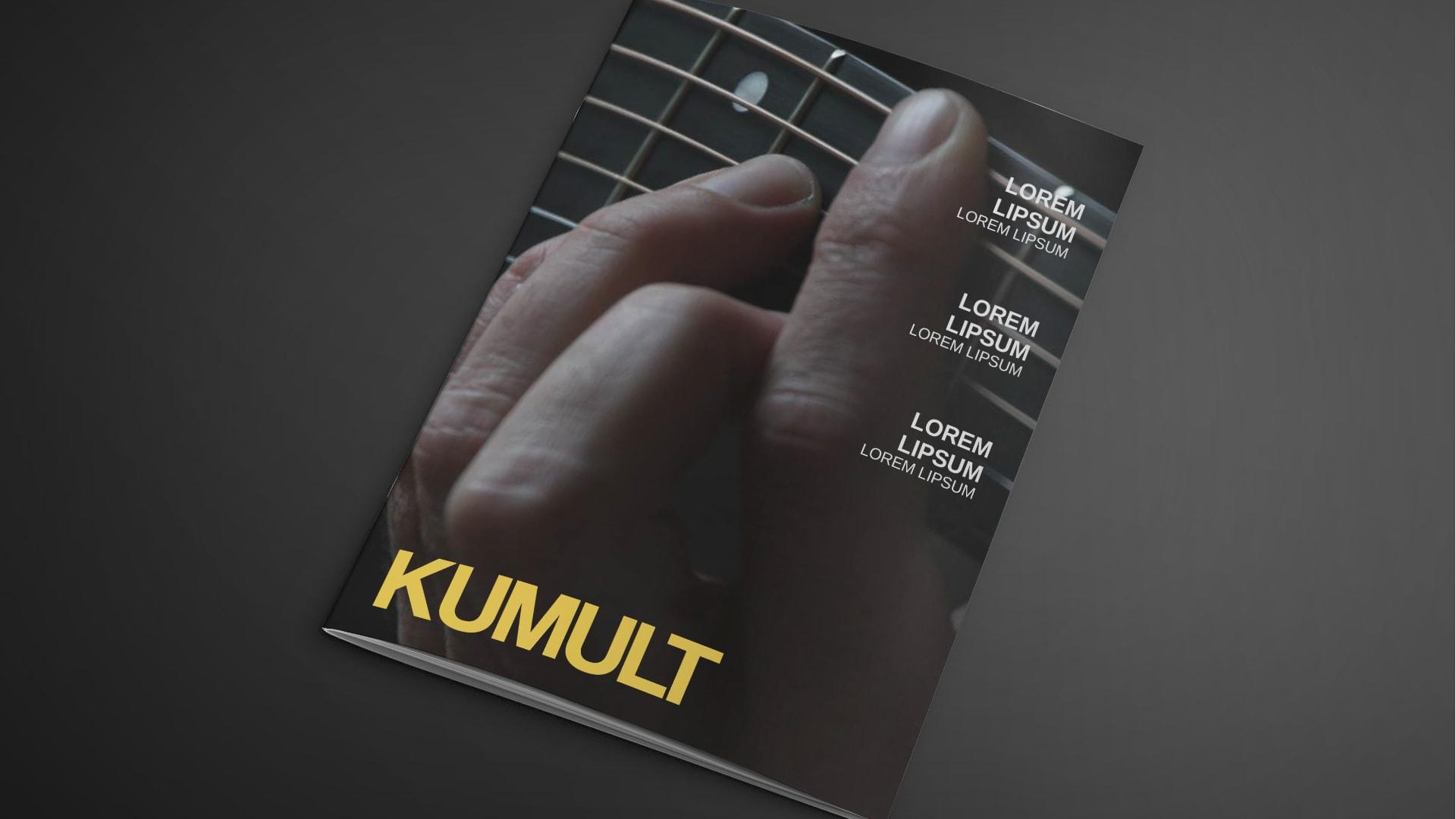 Kumult Tijdschrift Ontwerp