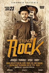 40_Grunge_rock_flyer