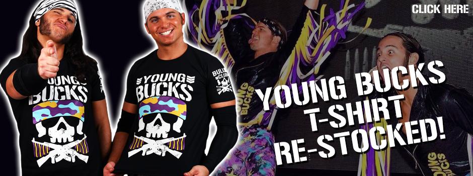 RE-STOCKED!!! Young Bucks tee