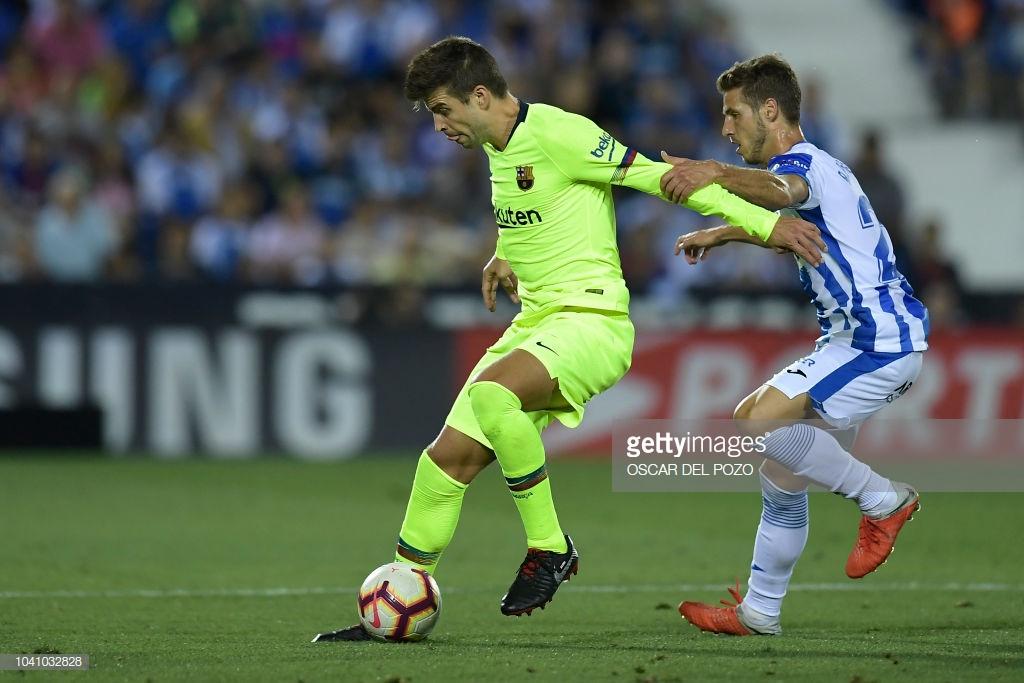 صور مباراة : ليغانيس - برشلونة 2-1 ( 26-09-2018 ) Yy
