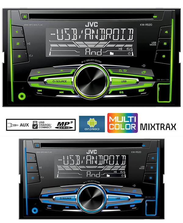 toyota avensis t25 cd player radio jvc android auto car. Black Bedroom Furniture Sets. Home Design Ideas
