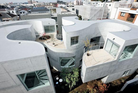 Okurayama Apartment Kazuyo Sejima and Associates01