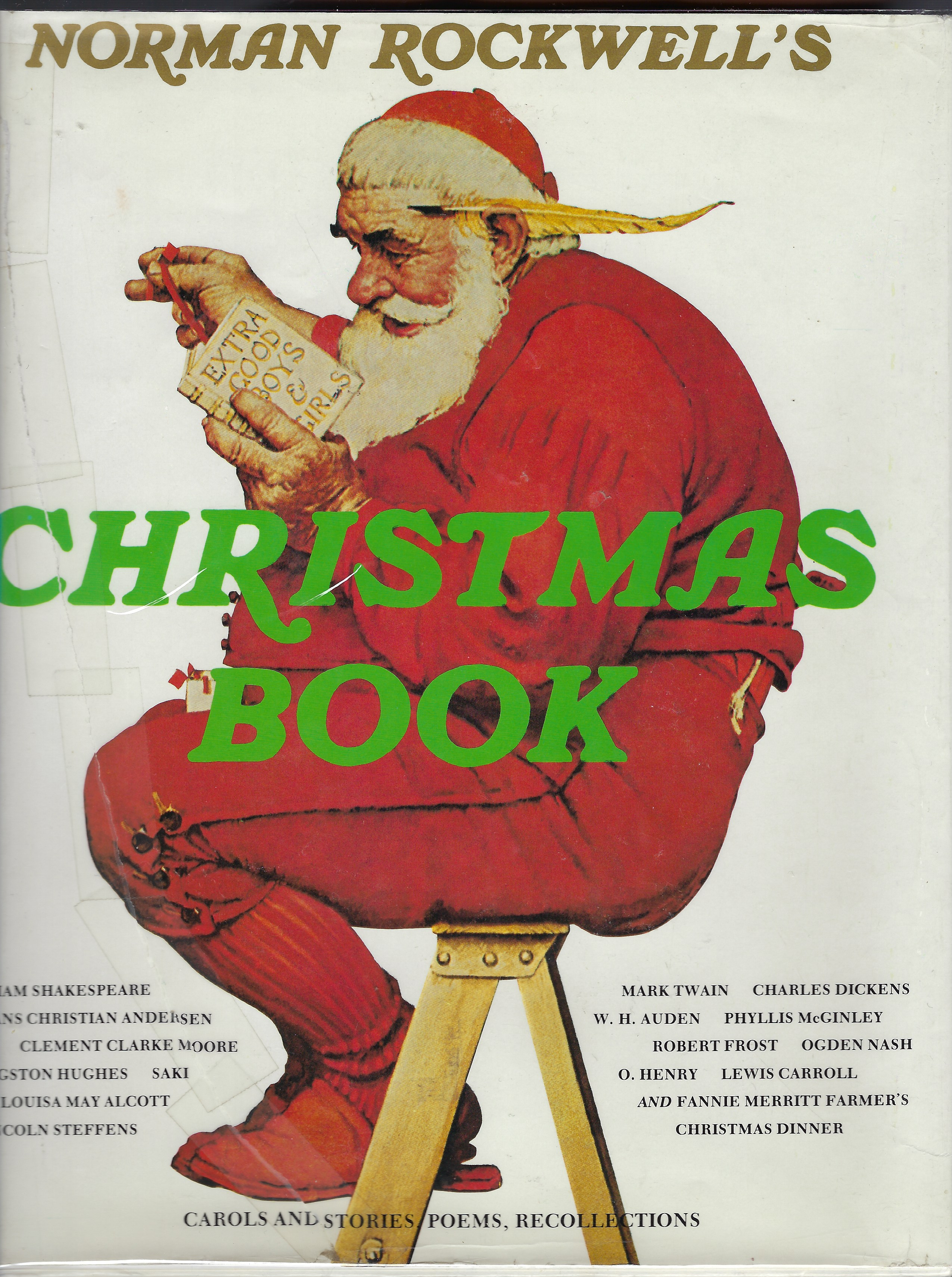 Norman Rockwell's Christmas Book, Rockwell, Norman; Rockwell, Molly [Editor]