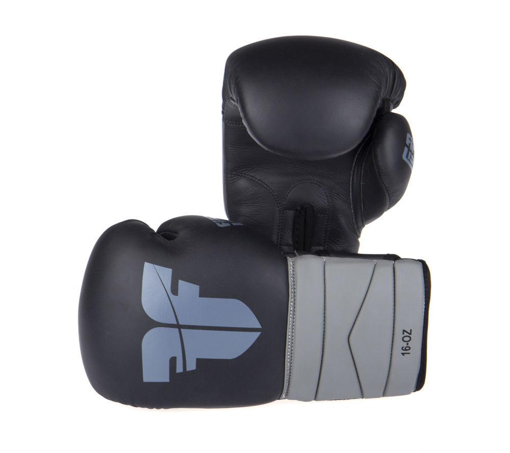 Купить Боксерские Перчатки Fighter black/grey  Бренд Чехия New