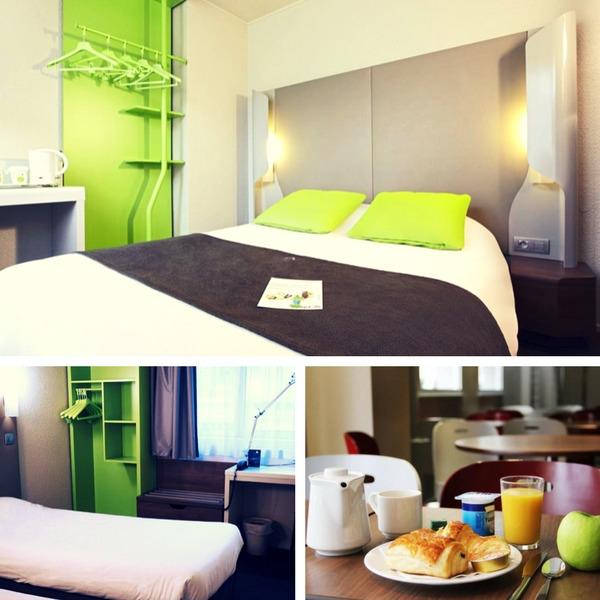 Mejores hoteles baratos en París - conpasaporte.com - Un Hôtel à Bastille
