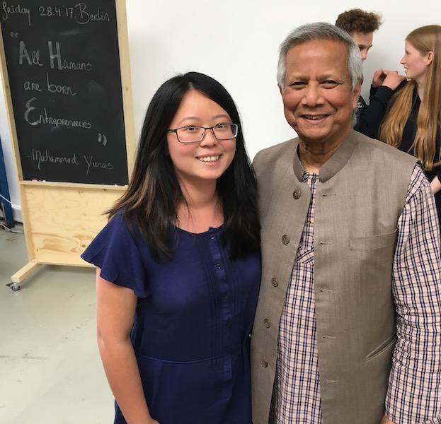 Prof Yunus and me