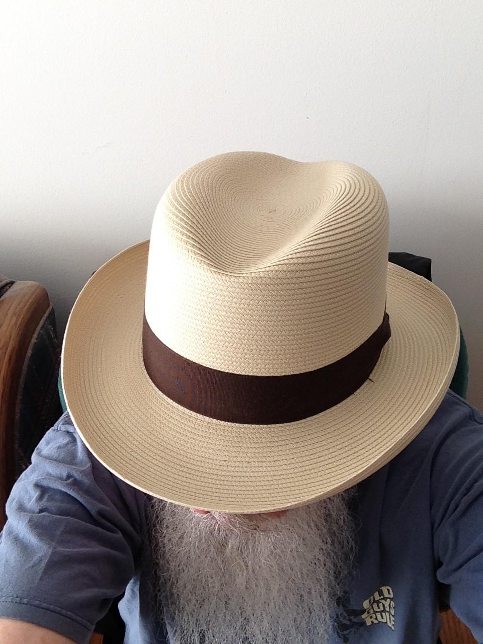 3c9c4e05 Dobbs Parker Straw Hat | DelMonico Hatter