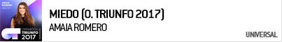 AMAIA ROMERO MIEDO (OPERACIÓN TRIUNFO 2017)