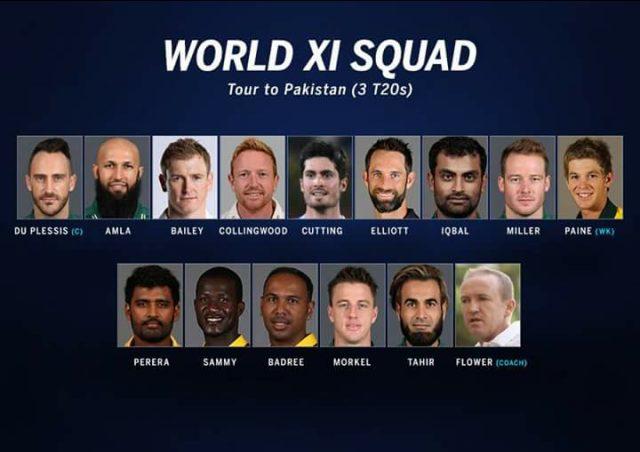 World XI Tour to Pakistan