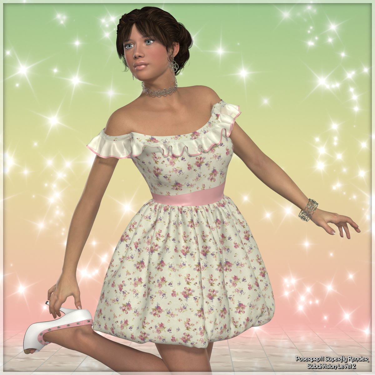 Dynamics 09 -Puffball Dress for Victoria 4