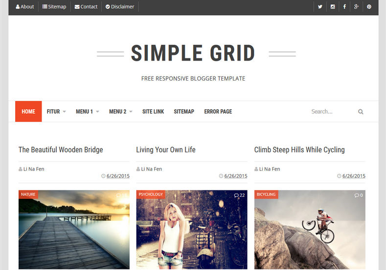 Simple_Grid_Blogger_Template_2
