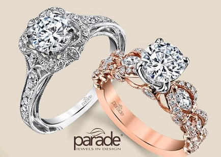 Parry Jewelers Features Sparkling Designer Collection of Engagement Rings