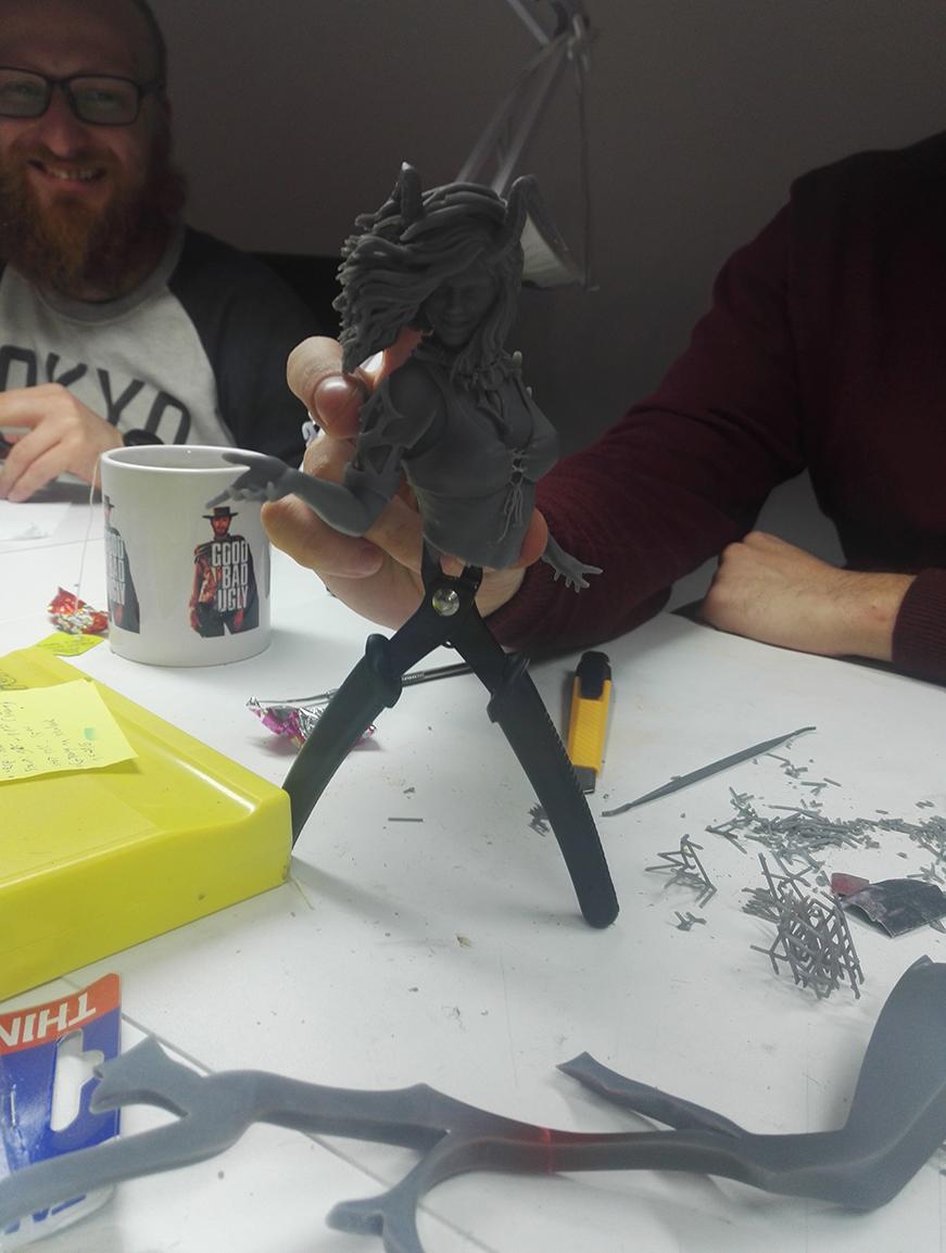 3D printing Daz 3D
