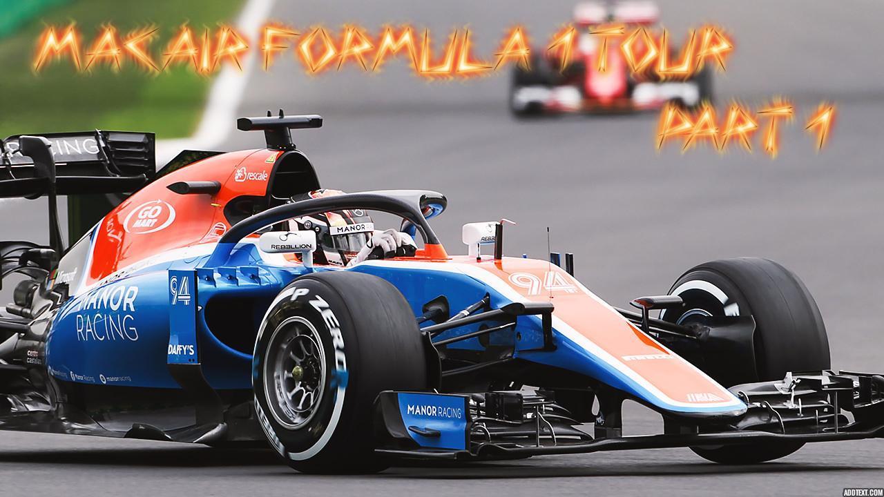 Formula 1 Tour Pt. 1