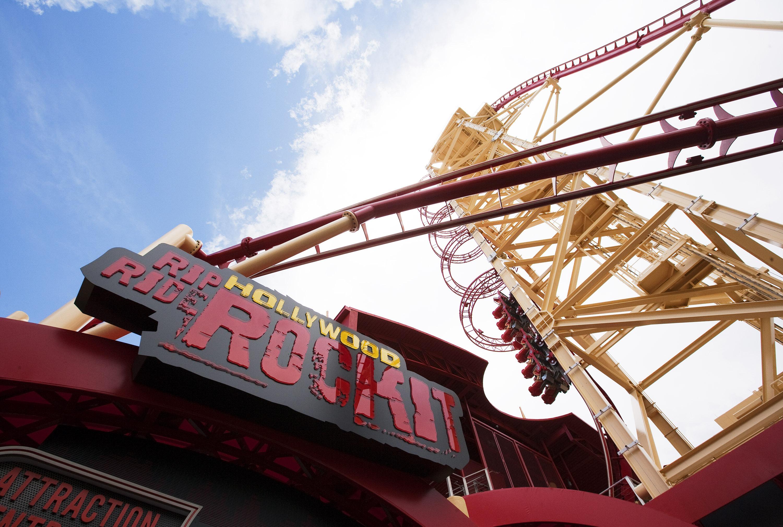 Holylwood Rip Ride Rockit at Universal Studios Florida