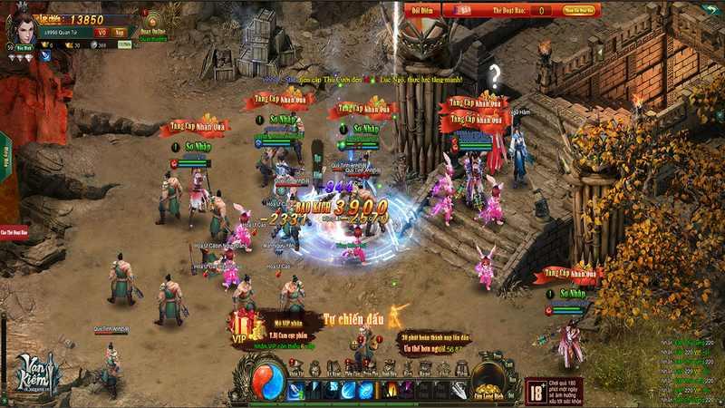 game kiếm hiệp, game online, vạn kiếm, webgame