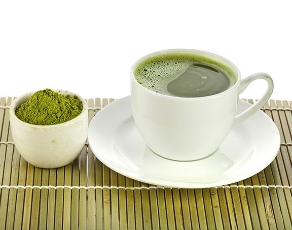 napar z zielonej kawy