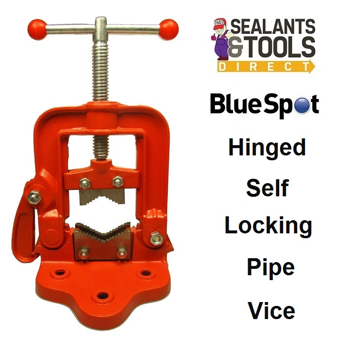 Blue Spot Tools Hinged Clamping Pipe Clamp Vice 10020