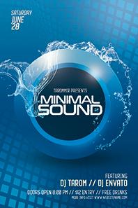 23_minimal_sound_flyer