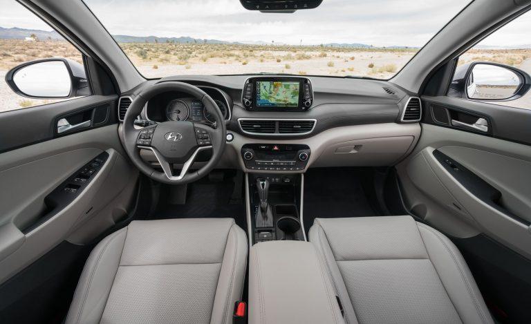 Tucson 2019 interior