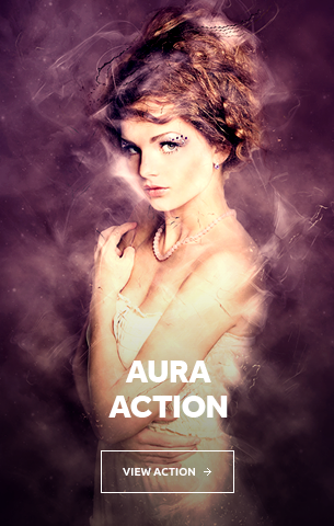 Aura Photoshop Action