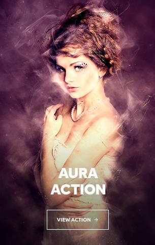 Aura Photoshop Action