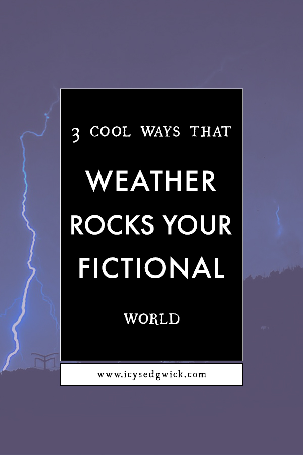 Weather isn't just important for setting the scene, it can also reveal a lot about your world and characters. It can even advance the plot! Click here to find out 3 cool ways to use weather in your fiction.