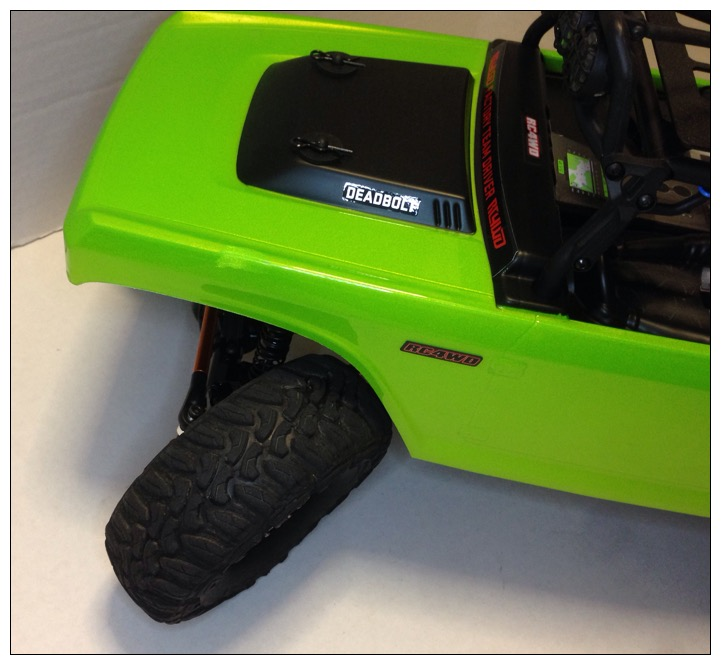 Frankengreen - RC4WD Forums