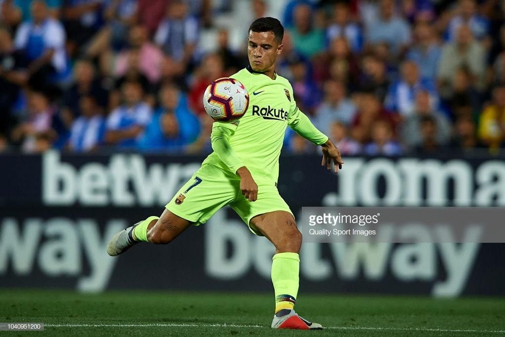 صور مباراة : ليغانيس - برشلونة 2-1 ( 26-09-2018 ) Ppp