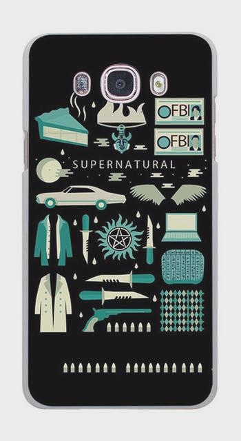 Supernatural Signs Symbols Tv Hard Case For Iphone Samsung Huawei