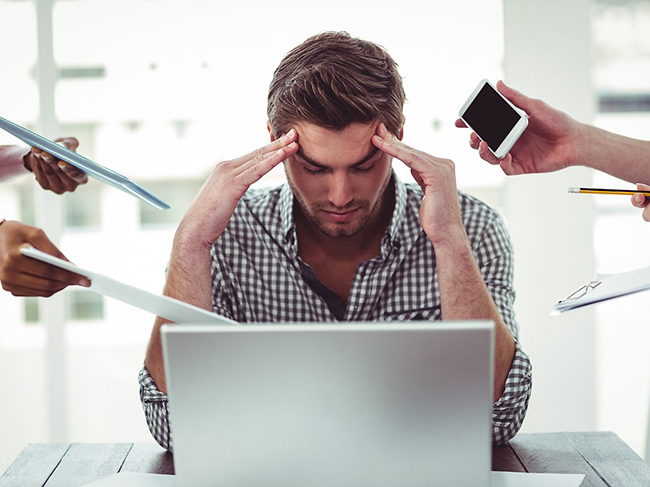 Experts: unloved work can cause stress