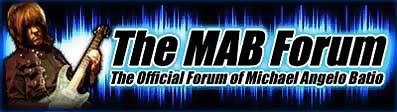 Michael Angelo Batio Forum