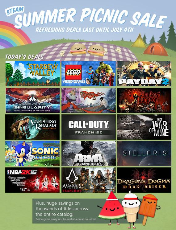 steam summer sale 2019 games