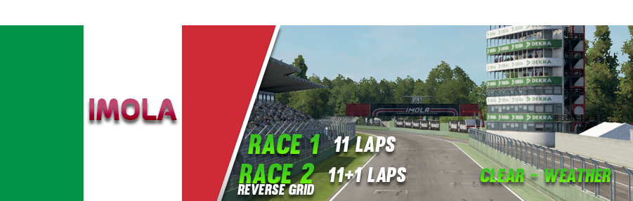 Round 2 Imola Sign In/Out Imola