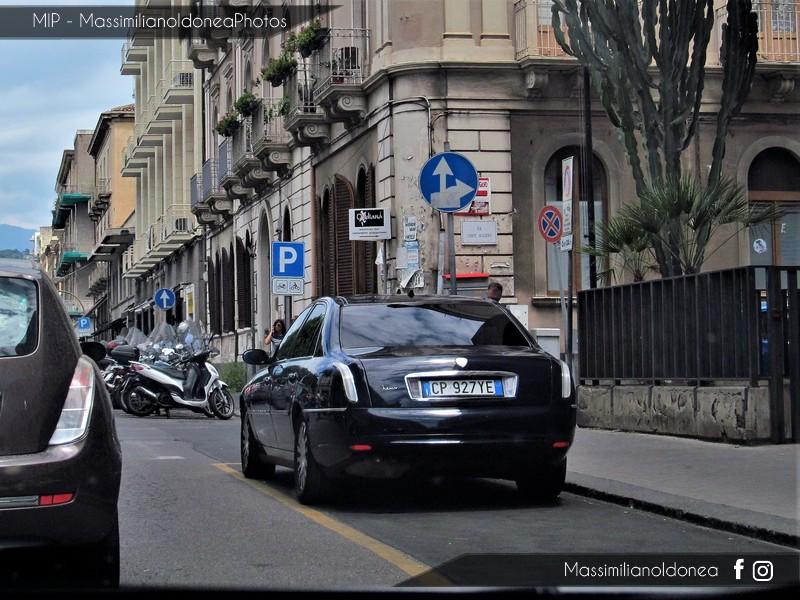 Avvistamenti auto rare non ancora d'epoca - Pagina 15 Lancia-Thesis-Protecta-CP927-YE