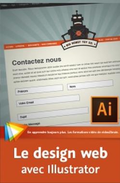 Illustrator CC pour les designers web sur Bookys