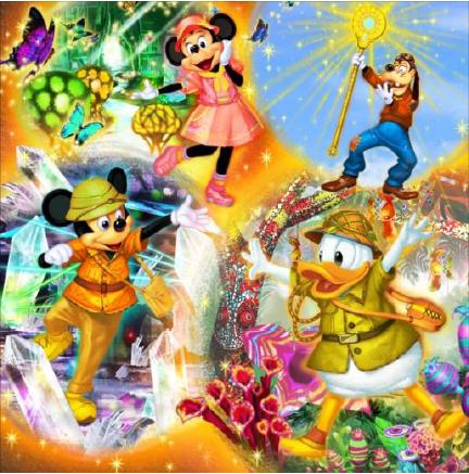 [Tokyo DisneySea] Song of Mirage (23 juillet 2019)  W857