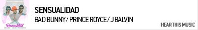 BAD BUNNY / PRINCE ROYCE / J BALVIN / MA SENSUALIDAD