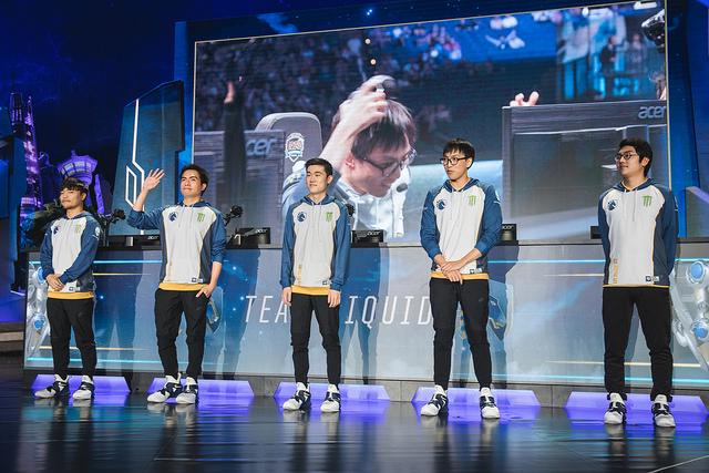 Equipo de Team Liquid | Vía Flickr @lolesports