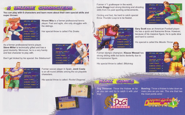 [Scan] Notices, flyers, artsets... NGCD - AES - MVS Flying Power Disc / Windjammers[Scan] Notices, flyers, artsets... NGCD - AES - MVS - PS4 - PSVita - Switch Flying Power Disc / Windjammers Windjammers2-640