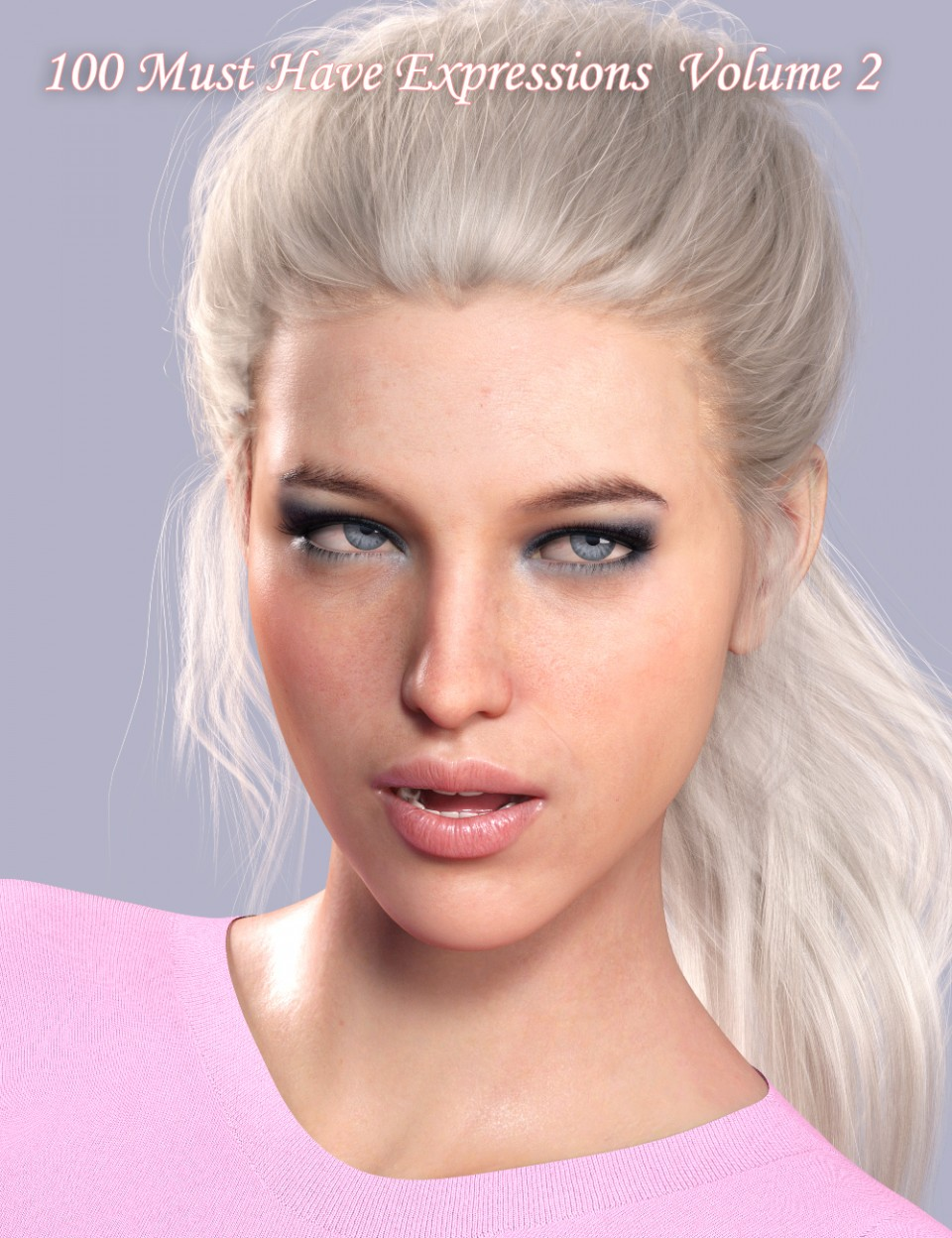 100 Must Have Expressions Volume 2 For Genesis 8 Female(s)
