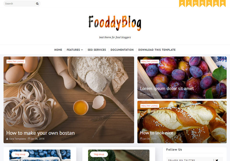 Fooddy_Blogger_Template_2