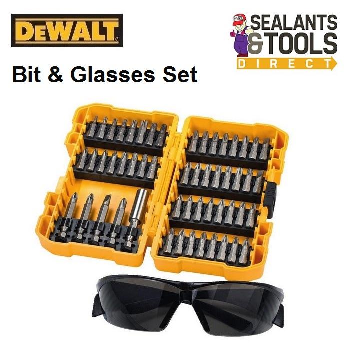 Dewalt DEWDT71540 Screwdriver Bit Set & Safety Glasses