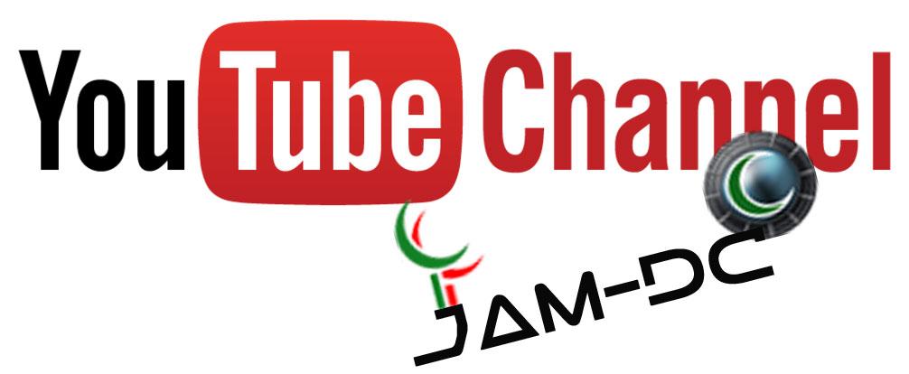 Настройки YouTube канала Jam - DC
